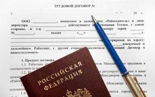 Трудовой договор ИП с работником в 2019 году: образец и бланк